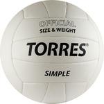 Мяч волейбольный TORRES Simple размер  5